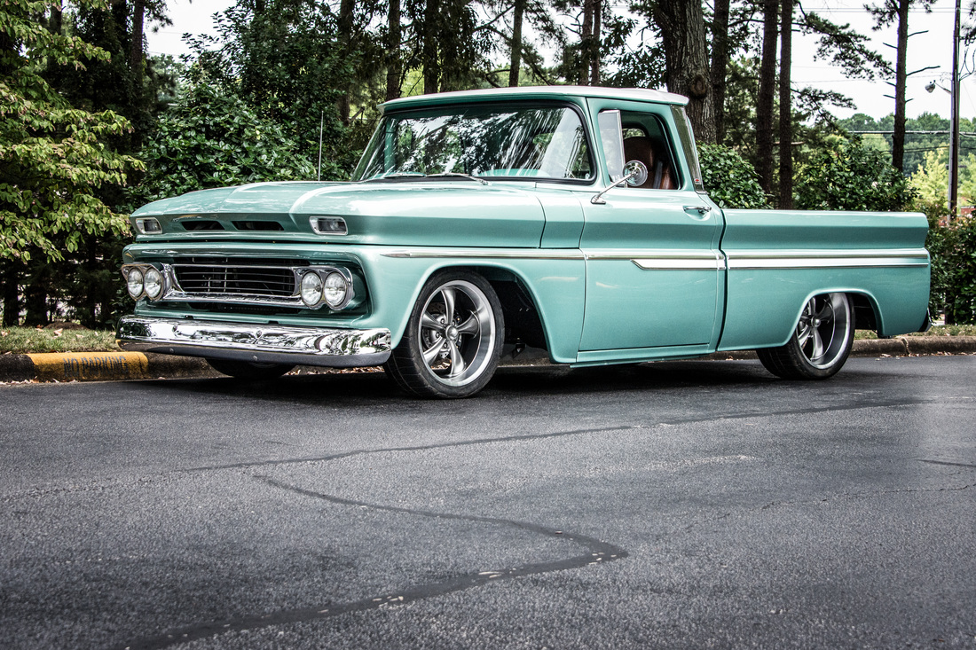 All Chevy chevy c-10 : 1963 Chevy C10 Restomod Build Gallery - Washburn Classic Car and ...